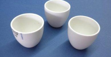Crisol de porcelana